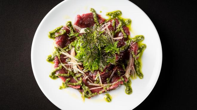 マルゴーグランデ - 料理写真:馬肉のカルパッチョ
