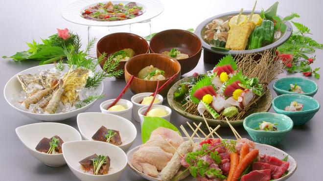 福西本店 炭蔵 - 料理写真:圧倒的なボリュームとバランスの取れた夏コース