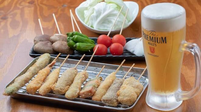 浜焼太郎 - 料理写真:串揚げ