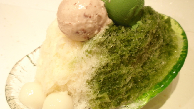 菊丸 - 料理写真:抹茶しぐ ¥900