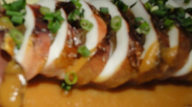 炙りま専科 - 料理写真:真イカ胴体焼き