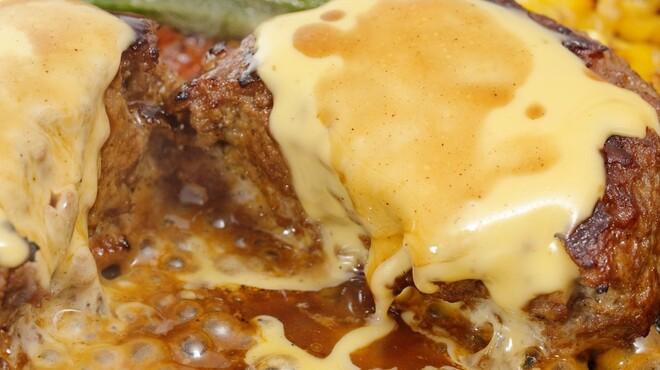 牛吟 - 料理写真:数量限定★山形牛100%チーズハンバーグランチ♪900円