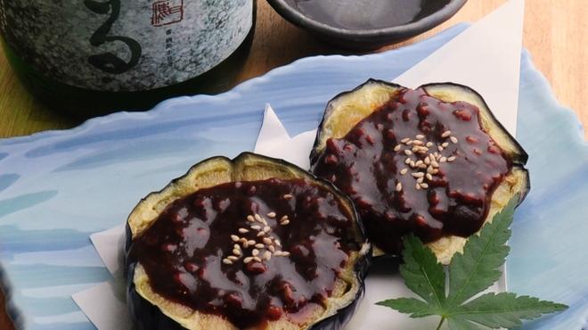 ときすし - 料理写真:加茂ナス田楽