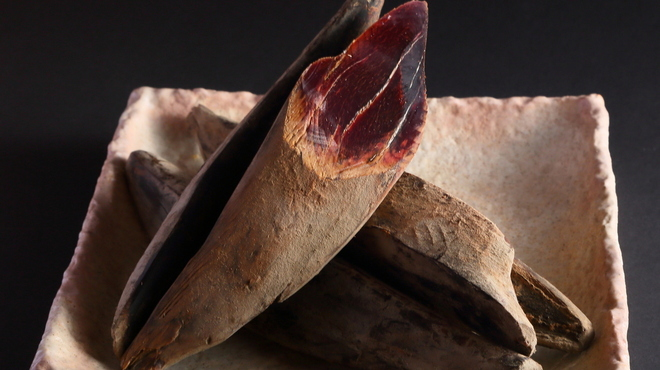 大阪豚しゃぶの会 - 料理写真:一本釣り本鰹節。南洋産を使用。