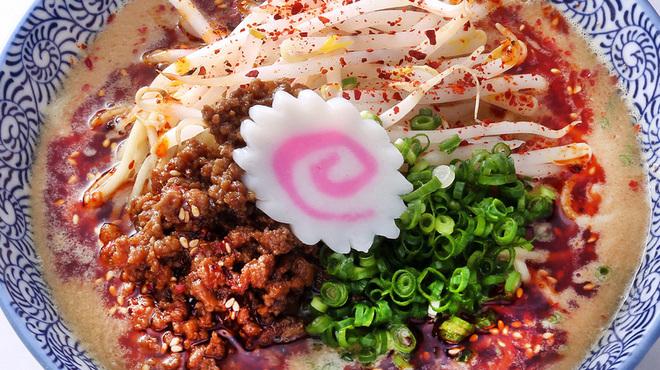 """自家製麺 魚担々麺・陳麻婆豆腐 """"dan dan noodles"""" - 料理写真:魚担々麺"""