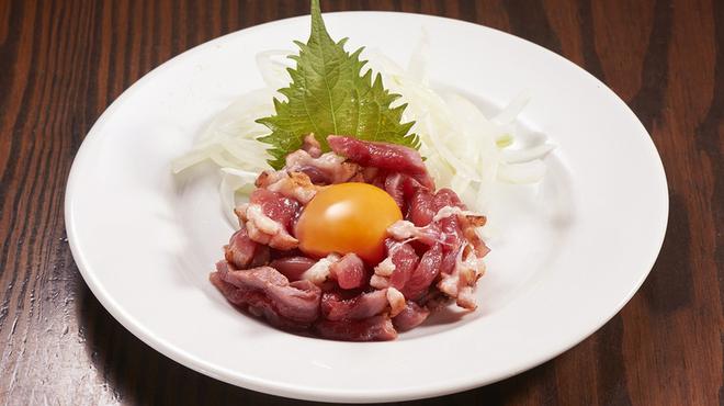 渋谷っ子居酒屋とととりとん - 料理写真:合鴨ユッケ
