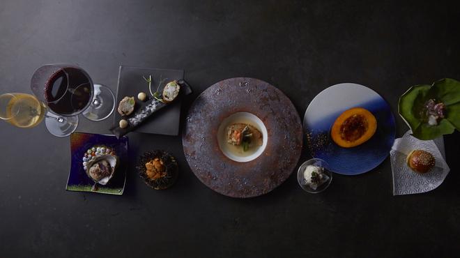 海栗とワイン epoque+ 北新地 - メイン写真: