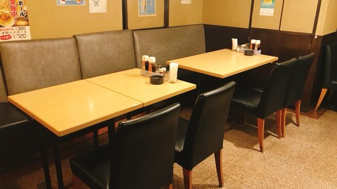 居酒屋 あゆみ - 内観写真:テーブル席