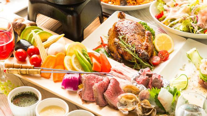 個室肉バル&屋内ハワイアンビアガーデン ザー コナ - メイン写真:
