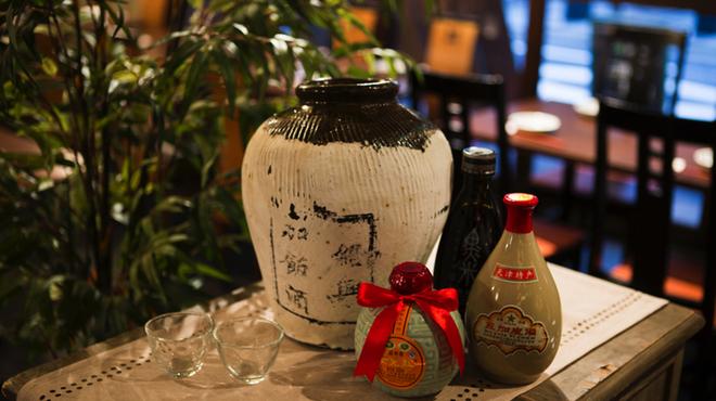 中国酒家 大天門 - ドリンク写真:甕出し紹興酒
