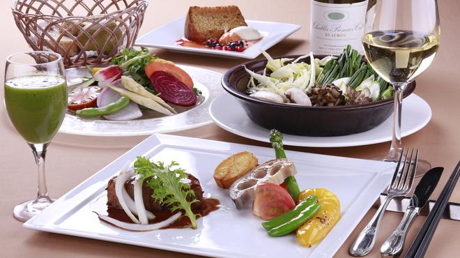 野菜がおいしいレストラン LONGING HOUSE - ドリンク写真:軽井沢高原ディナー