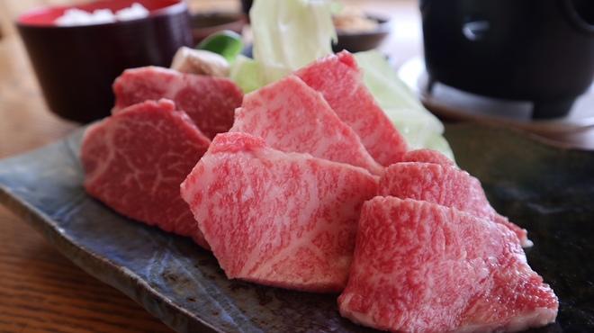 レストラン岡崎 - 料理写真:日野牛三種盛り