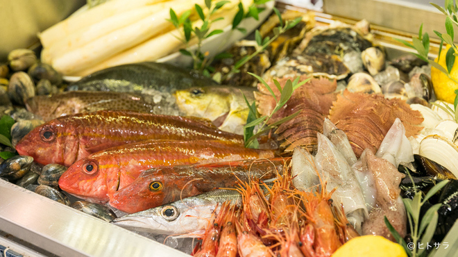 ラ・バイア  - 料理写真:国内外から仕入れる厳選した質のいい食材