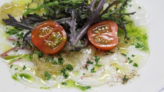 ガーデン&クラフツ カフェ - 料理写真:生タコのカルパッチョ