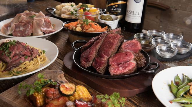 肉バルブッチャーズ 八百八 - 料理写真:MEAT×MEAT PARTY