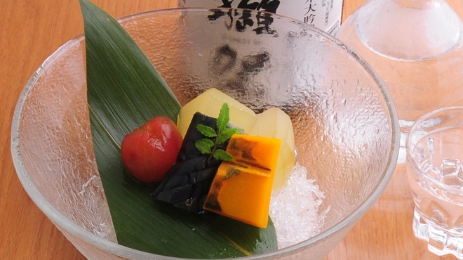 ときすし - 料理写真:夏野菜の炊き合わせ