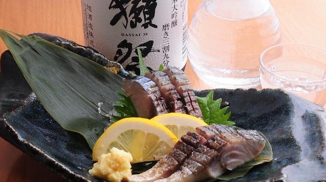 ときすし - 料理写真:炙り鯖キズシ