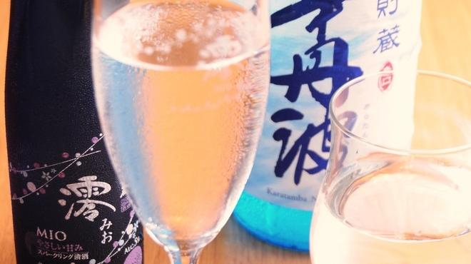 ときすし - ドリンク写真:夏酒いろいろ