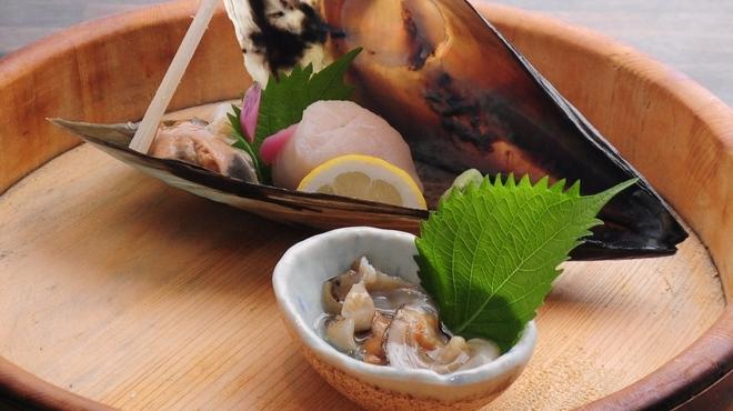 ときすし - 料理写真:タイラギ貝姿造り
