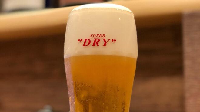 一魚一恵  - ドリンク写真:暑い時はこれ!!グラスもキンキンに冷やしてます!!