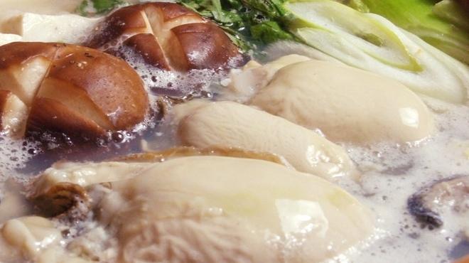 なごみや一夜 - 料理写真:牡蠣鍋