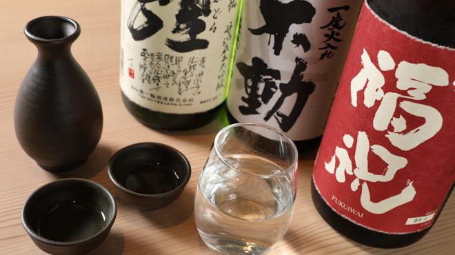 SUSHI TEMPRA すし天 - メイン写真:千葉の地酒