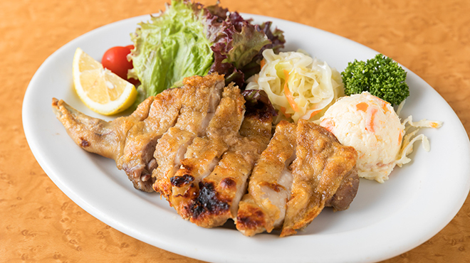 博多水たき元祖 水月 - 料理写真:鶏ももの塩焼き