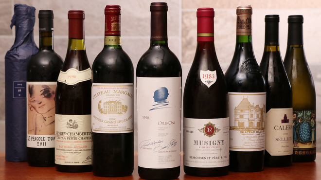 フレンチごはん 西麻布GINA - ドリンク写真:さまざまなワインをご用意しております。持ち込みも可能です。ご相談ください。