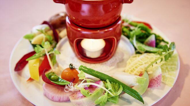 ベンベヌート - 料理写真:大和野菜のバーニャカウダ