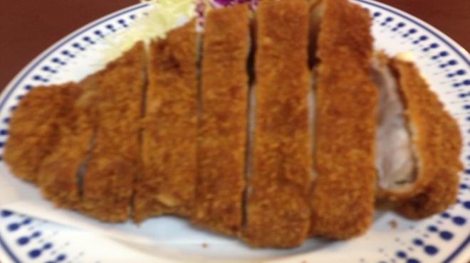 八千代味清 - 料理写真:厚切りロースかつ!ご賞味あれ!