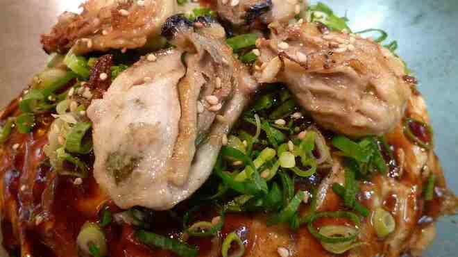 お玉のキャベツ - 料理写真:THE 牡蠣!!この一枚で広島満喫!!¥1300