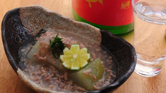 ときすし - 料理写真:冬瓜のみぞれあんかけ 500