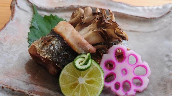 ときすし - 料理写真:舞茸の秋刀魚焼き巻き
