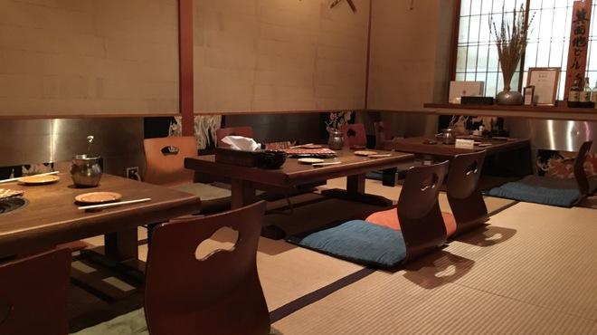 もつ鍋 亀八 - 内観写真:畳のお座敷は最大22名様まで!
