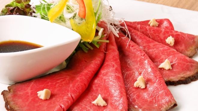 焼肉竹林 別邸 - 料理写真:ローストビーフ