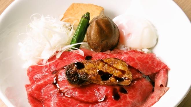 焼肉竹林 別邸 - 料理写真:大人の牛丼
