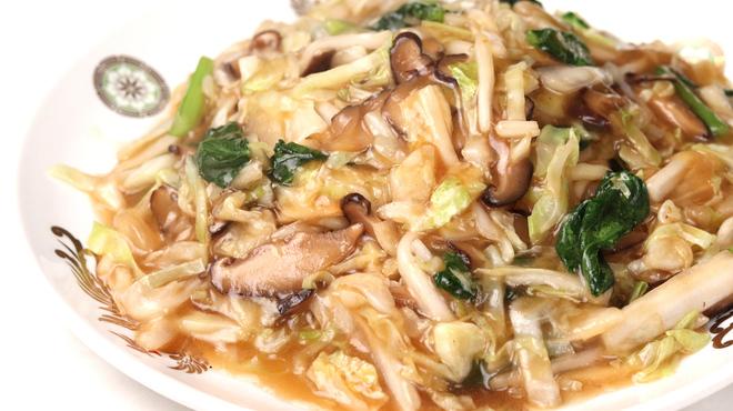 揚子江分店 - 料理写真:椎茸焼きそば