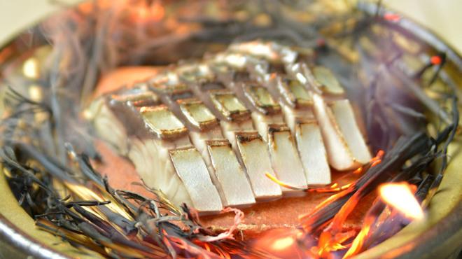 神楽坂 久露葉亭 - 料理写真:〆鯖藁焼き