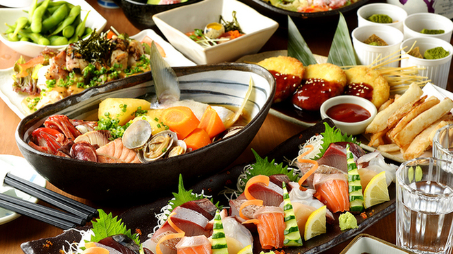 かいえん 海鮮と日本酒の専門店 - メイン写真: