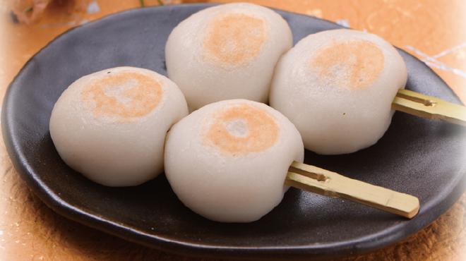 三陸菓匠さいとう - 料理写真:みたらしあん焼だんご