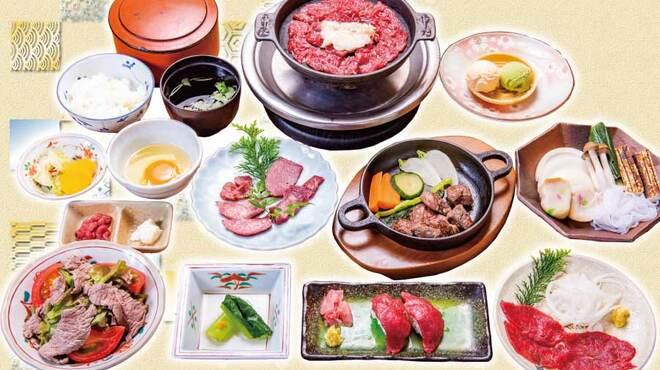 桜なべ 中江 - 料理写真:春夏秋冬いつでも美味い桜肉料理を集めた「定番コース」