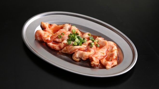 大阪焼肉 ホルモン ふたご  - 料理写真:秋メニュー: 肉コラーゲン(豚小腸)