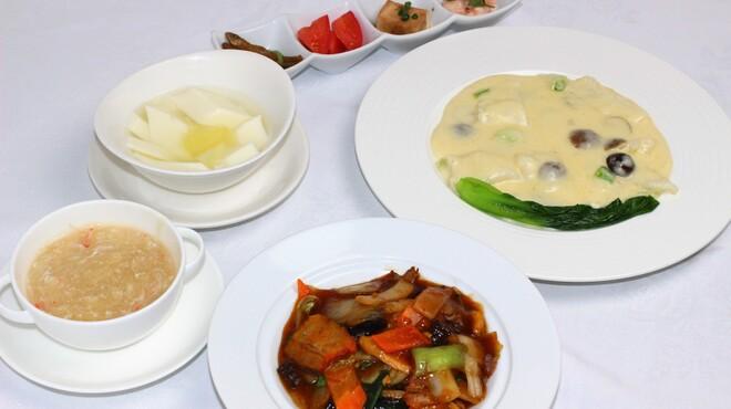 鎌倉山下飯店 - 料理写真:9月レディースランチ
