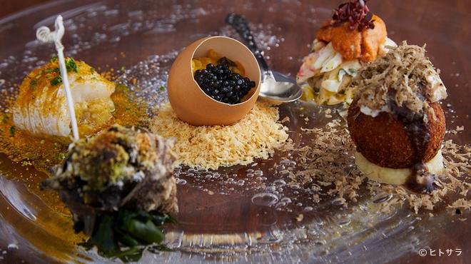 ヴェーナ - 料理写真:その季節ならではのおすすめ食材でつくる『前菜盛り合わせ』