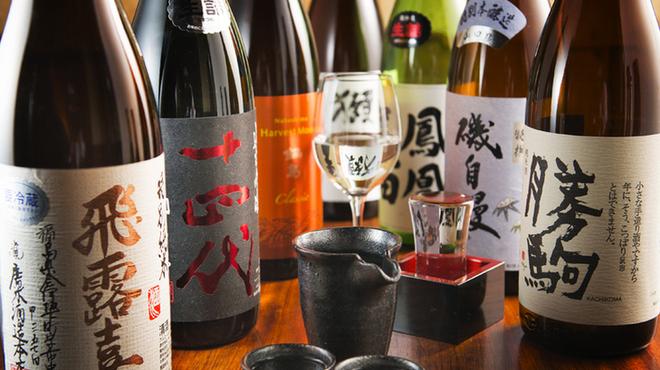 牡蠣と日本酒 四喜 - ドリンク写真: