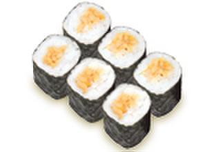 すしざんまい - 料理写真:納豆巻 1個220円(税別)