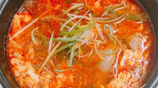 母韓の台所 - 料理写真:カルビスープ