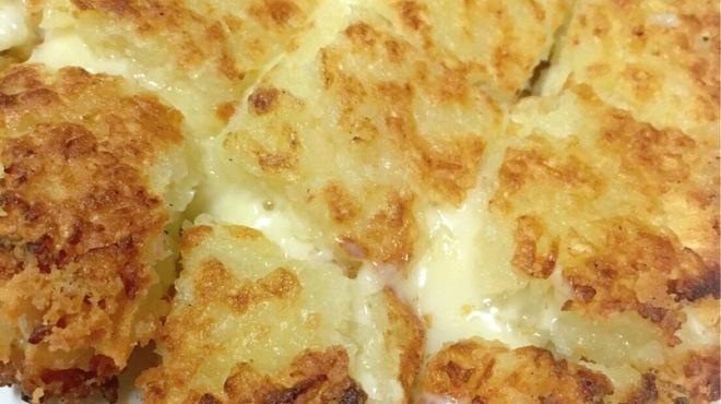 母韓の台所 - 料理写真:ジャガイモチーズチヂミ