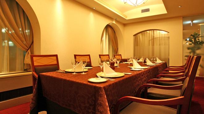 ホテルオークラ レストラン ニホンバシ - 内観写真:個室