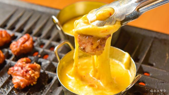 焼肉屋台 皐月 - 料理写真:まさに「肉×チーズ」の新体験『チーズカルメギサル』